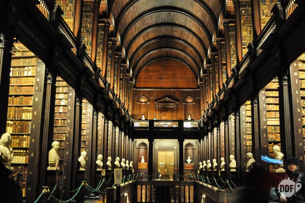 Dublin roteiro trinity college biblioteca harry potter irlanda europa