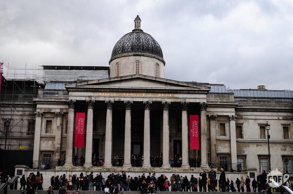 Londres-museus-national-gallery-tralfagar-square-inglaterra