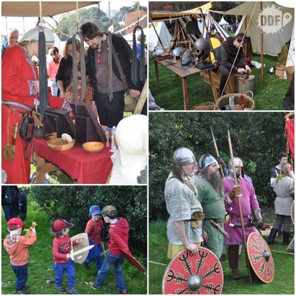 batalha-clontarf-battle-festival-evento-medieval-vikings-tendas-dublin-irlanda