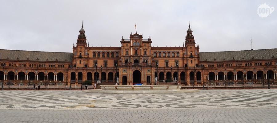 viagem-mochilao-europa-espanha-sevilha-andaluzia-plaza-de espana