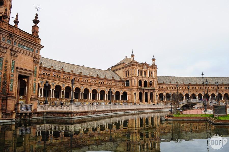 Plaza de Espanha, um dos locais mais bonitos de Sevilha