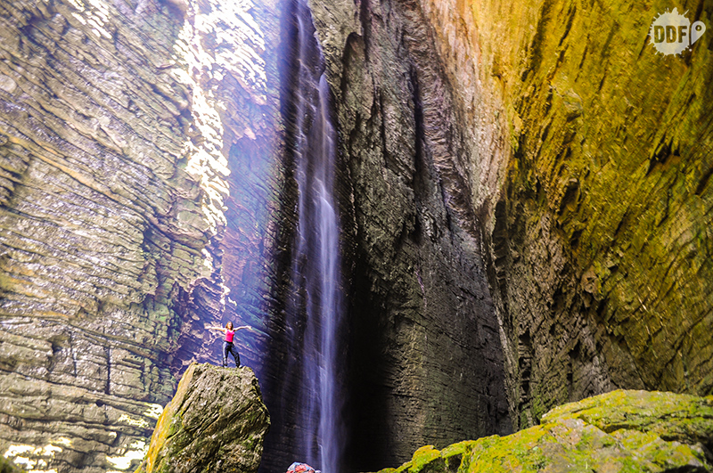 cachoeira da fumacinha, a mais bonita da Chapada Diamantina