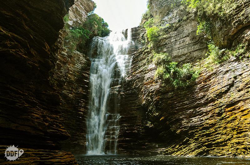 Cachoeira do Buracão, uma das mais bonitas da nossa viagem à Chapada Diamantina