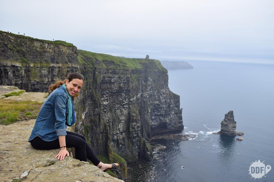 cliffs of moher, altura, penhasco, perigo, vertigem, Irlanda,
