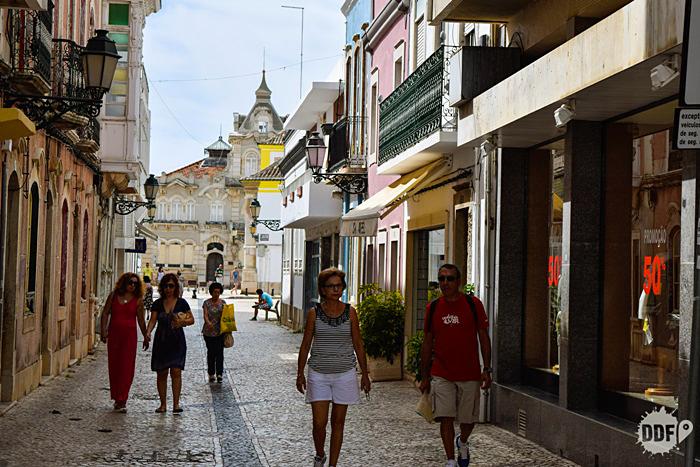 Faro -Algarve-Portugal-centro-Baixa-comercio-passeio-viagem