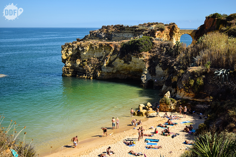 Praia dos Estudantes - Algarve, Portugal