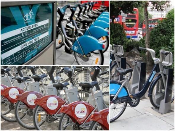 ações para importar aluguel bicicletas bike dublin sevilha londres