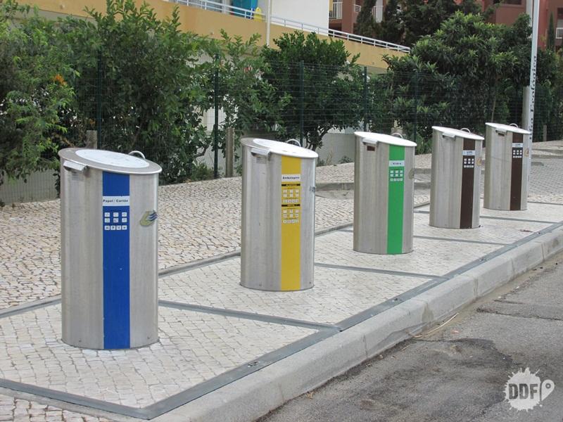 ações para importar lixeiras inteligentes portugal algarve portimao