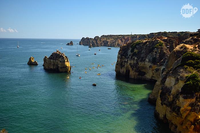 Caiaques pelo Algarve, Lagos