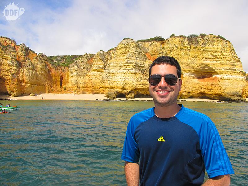 Passeio pelas grutas de Lagos - Algarve, Portugal