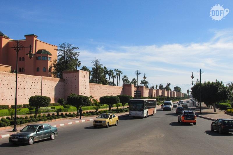 marrakech marrocos muros medina cidade vermelha viagem ferias africa