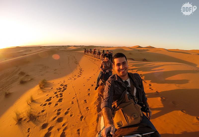 Tour pelo deserto do Saara, Marrocos - Foto da Gopro