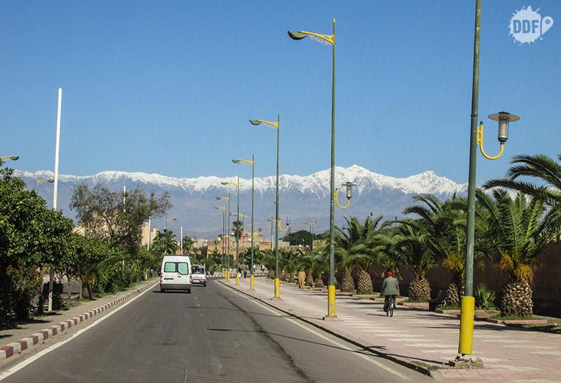 Cordilheira Atlas, caminho para o Deserto do Saara