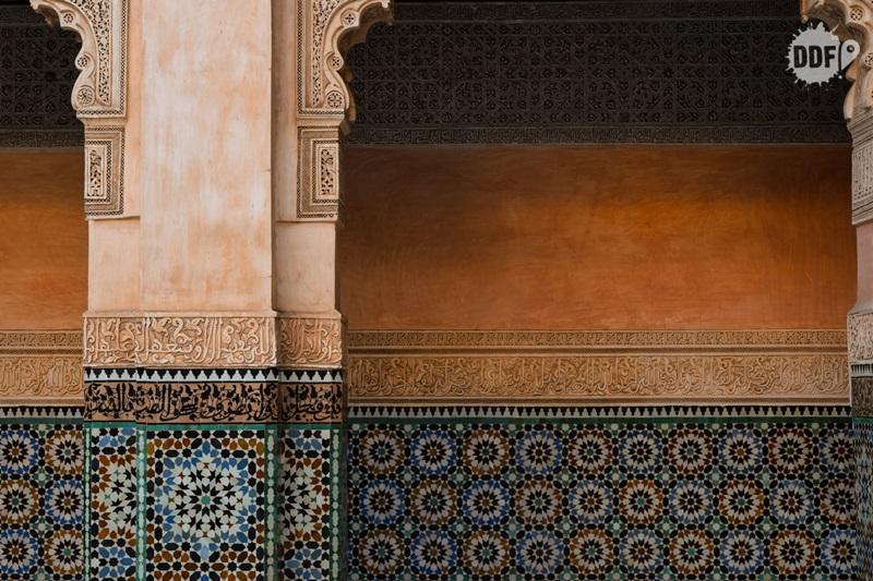 Ben Youssef Museu de Marrakech Marrocos arquitetura árabe
