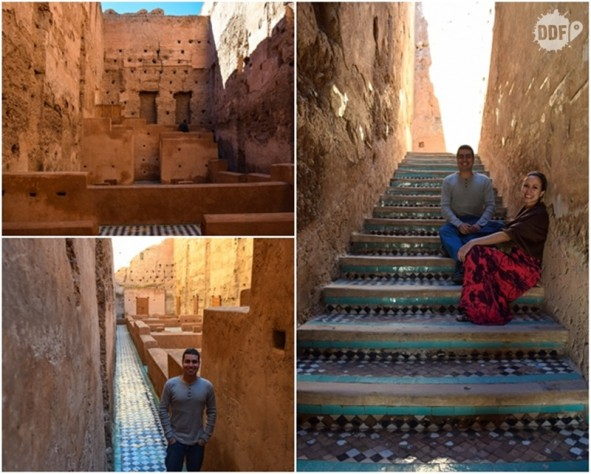 palacio badi palais el badii ruinas por dentro visita viagem ferias marrakech palácios marrocos