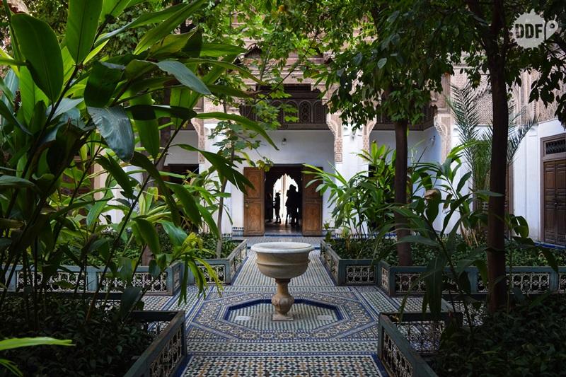 palacio bahia palais visita marrakech palacios marrocos