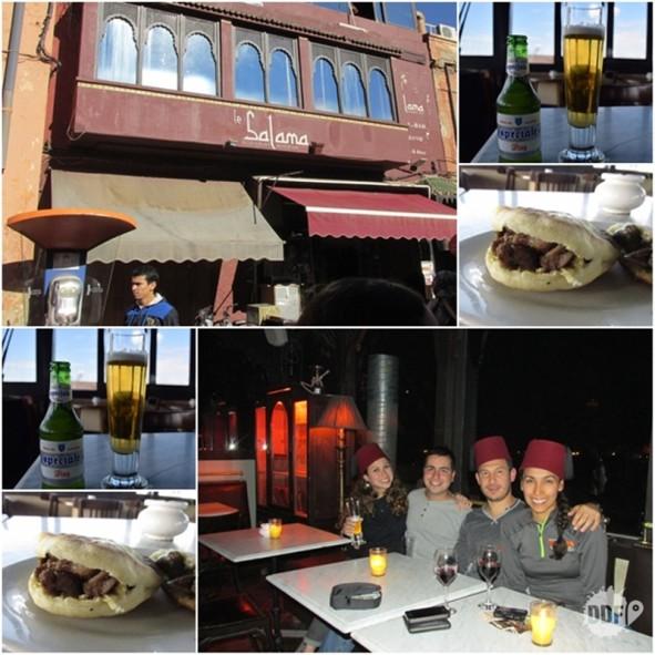 marrakech-onde comer-restaurante-bebida-happy-hour-le-salama-marrocos
