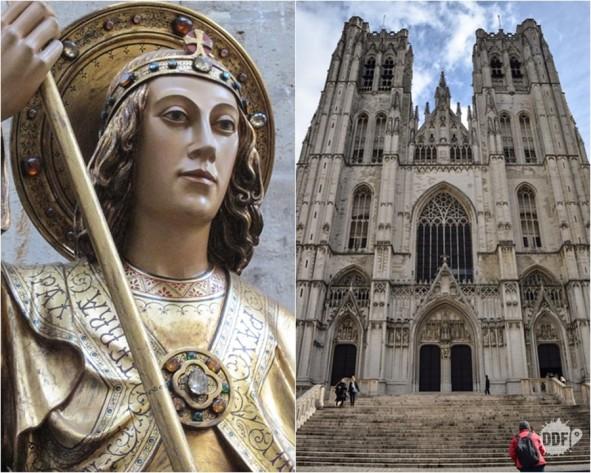 belgica-bruxelas-catedral-saint-michel-sao-miguel-santa-gudula-fachada-estilo-gotico-turismo-viagem-europa