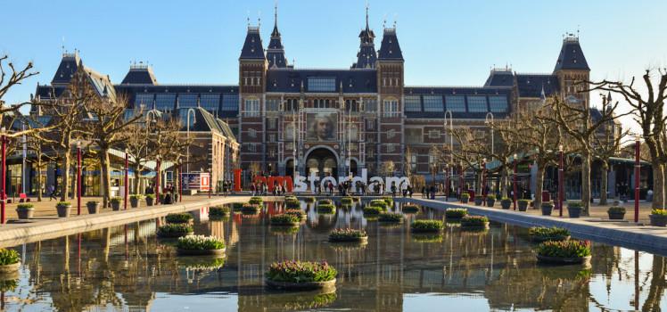 Letreiro i amsterdam - Museumplein como chegar