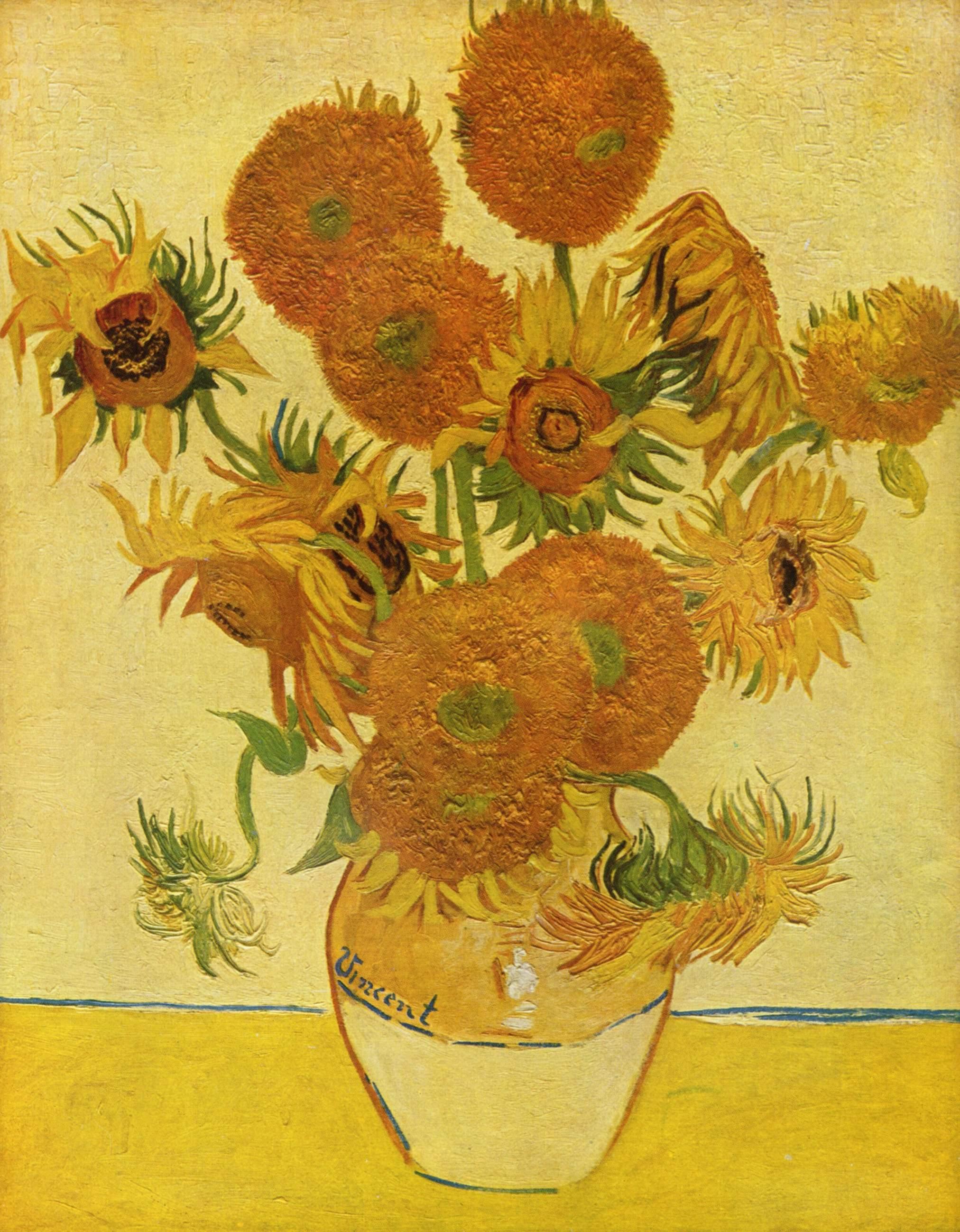 Amsterdam-Museu-Van-Gogh-museum-quadro-girassois-obra-arte