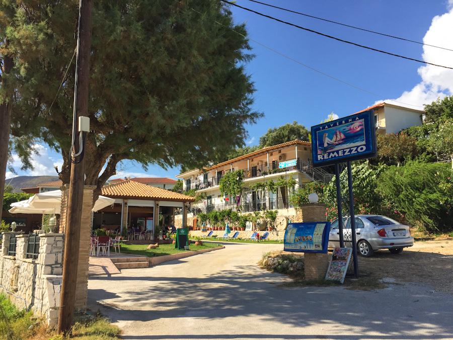 comida na Grécia onde comer zakynthos restaurante remezzo