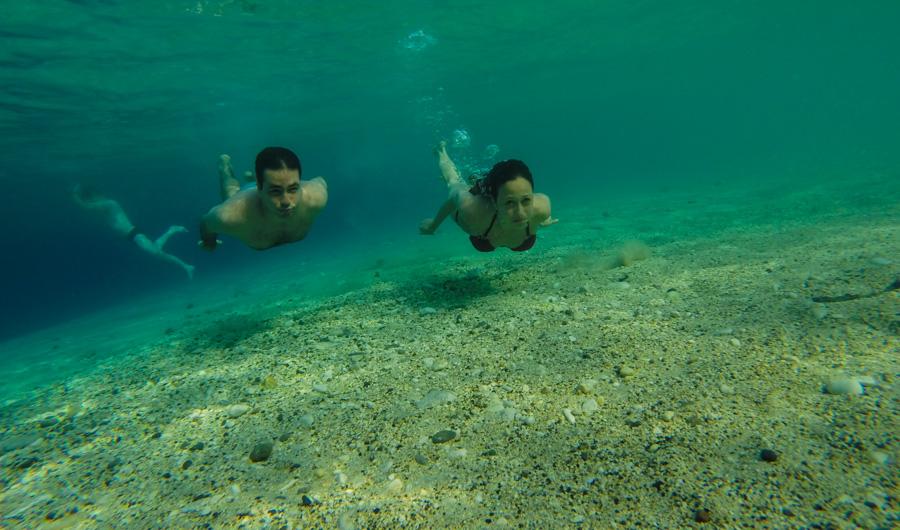 Subaquatica em Marathonisi - Gopro