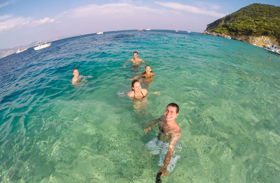 As praias mais bonitas de Zakynthos - marathonisi gopro