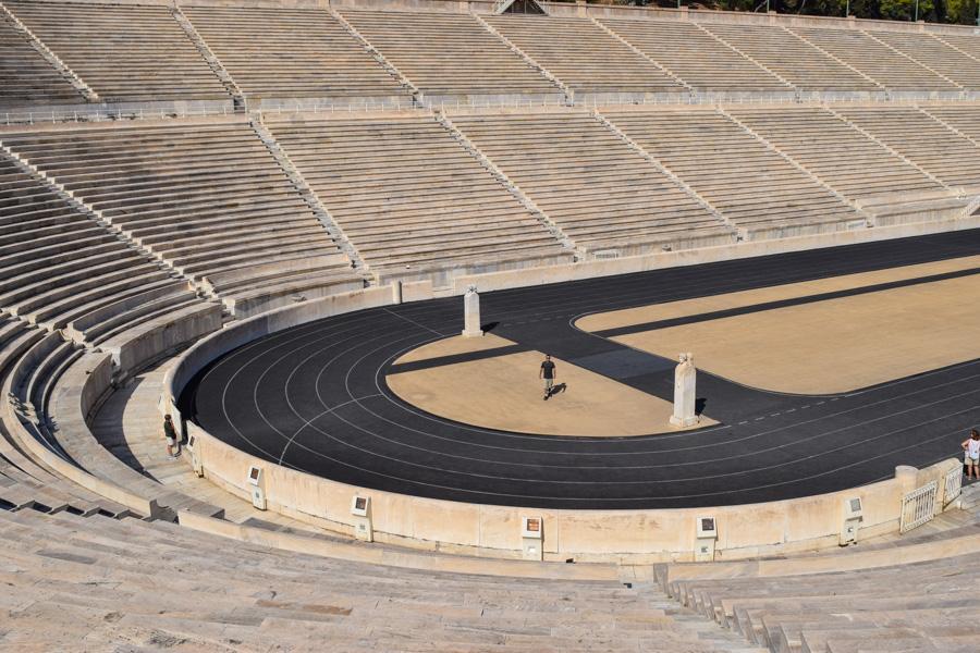 roteiro de 2 ou 3 dias de viagem em Atenas Estadio Panatenaico olimpíadas