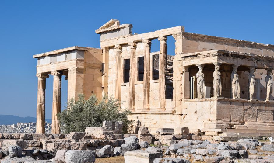 templo erecton acropole o que fazer em Atenas