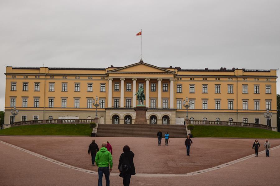 oslo noruega palácio real