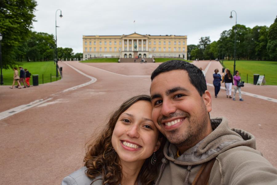 oslo noruega palácio real viagem