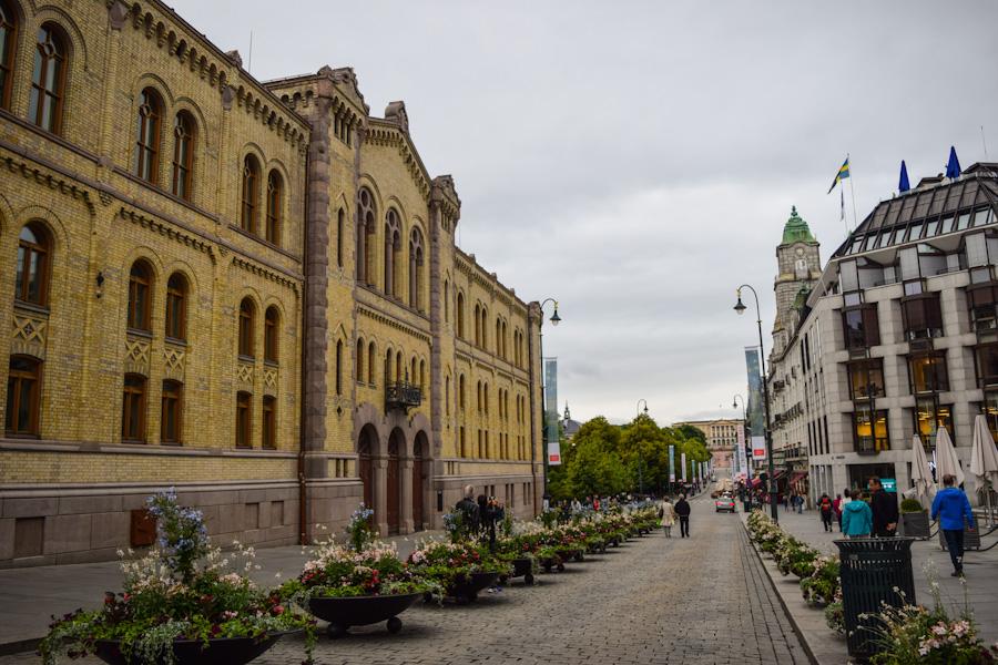 oslo noruega europa karl johans gate