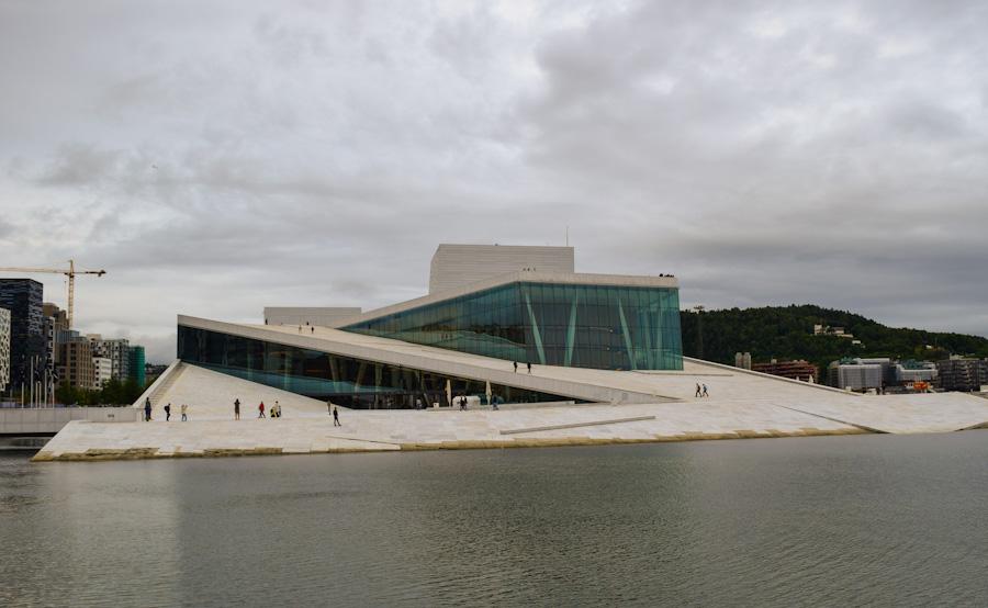 opera de oslo capital noruega passeio cidade europa