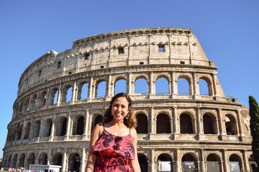 Coliseu de Roma viagem europa italia verao eurotrip