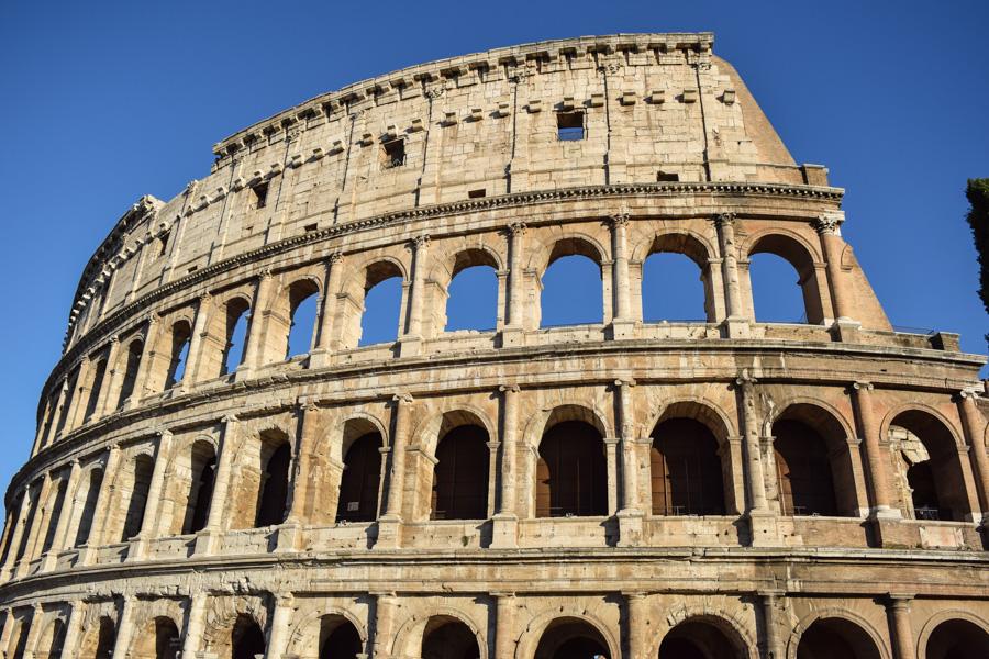 Coliseu de Roma monumento Itália imperio romano