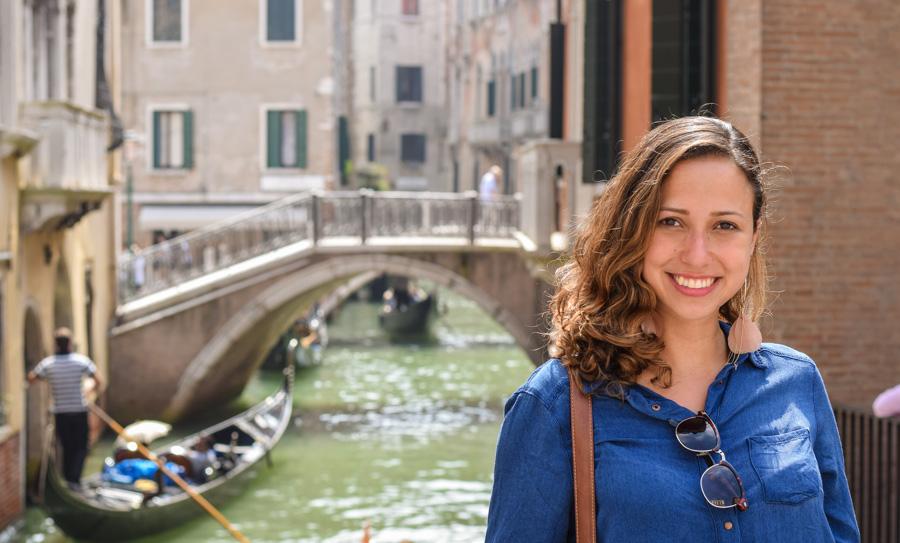 Italia ferias viagem canal veneza gondolas passeio