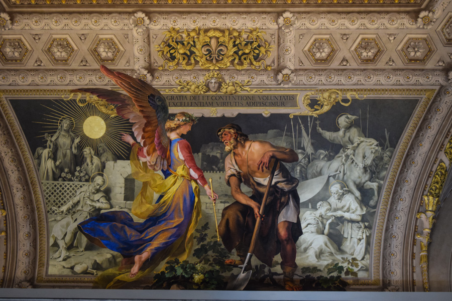 capela sistina museus do vaticano pintura teto galeria arte italia