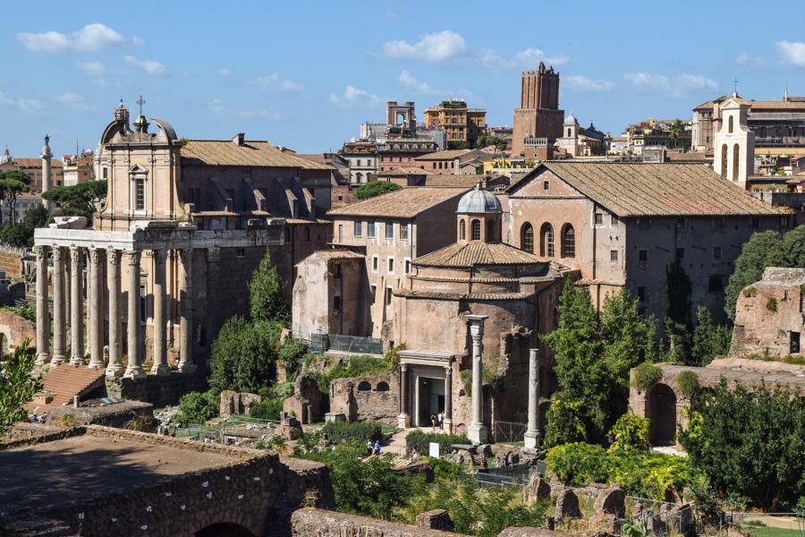 roma forum romano ruinas templos antigo comercio monumentos imperdiveis