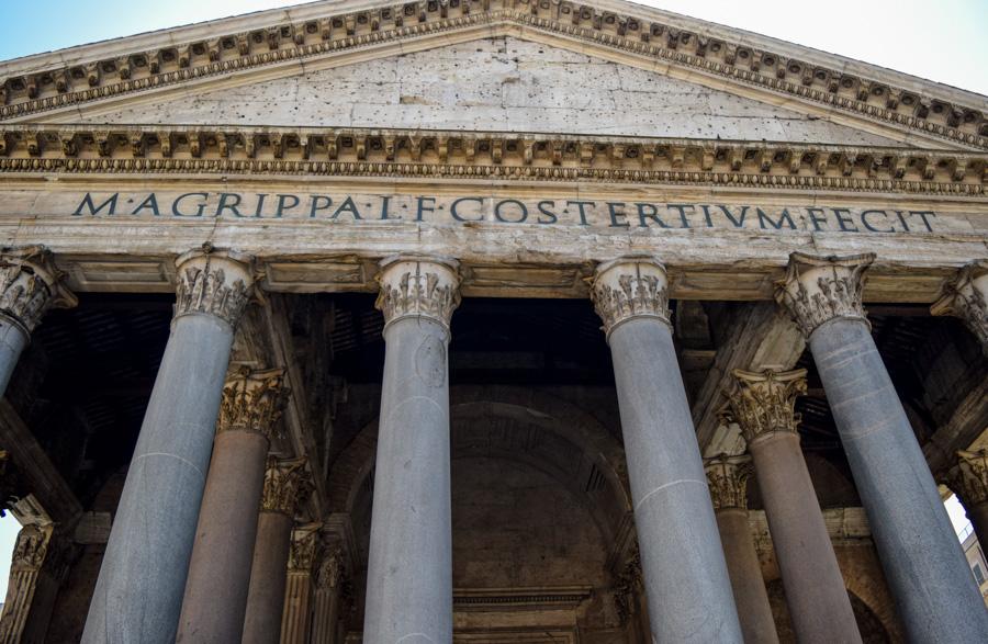 roma panteao pantheon romano entrada frente monumentos imperdiveis