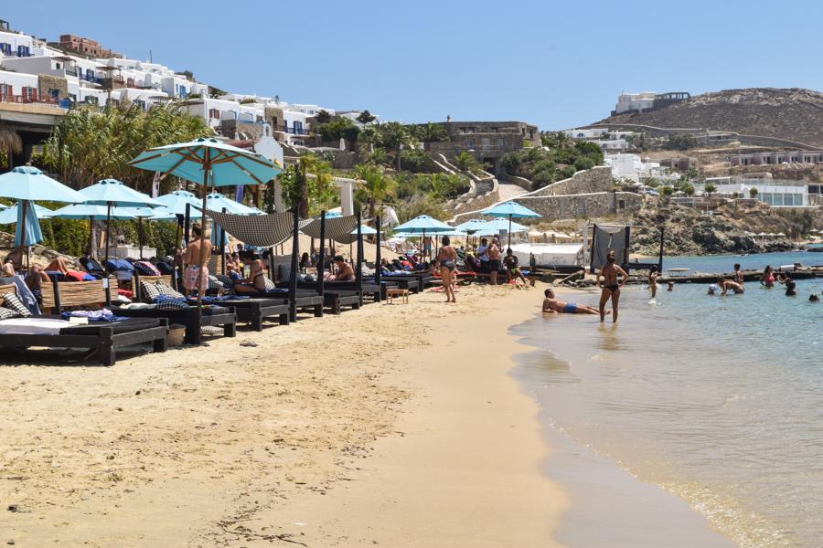 Melhores praias de Mykonos na Grecia 2