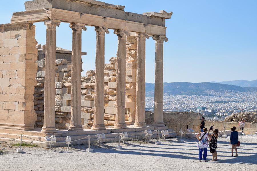 acropole visita templos partenon parthenon atenas grecia