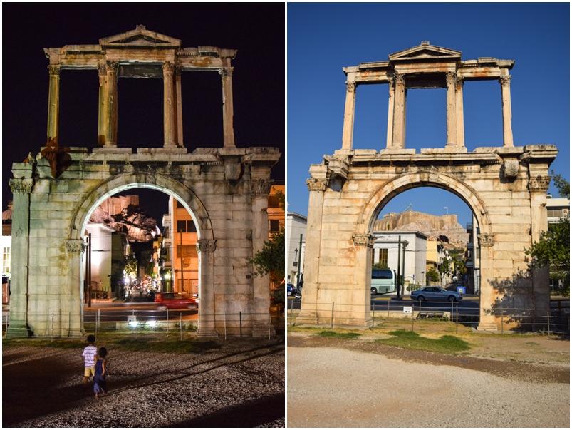 Arco de Adriano o que fazer em Atenas