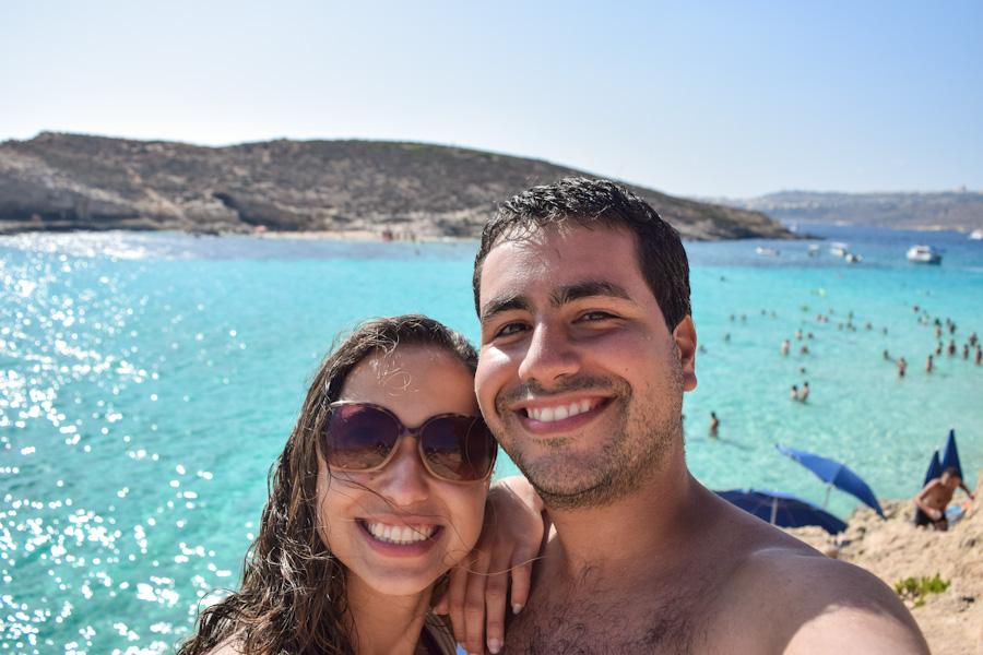 ilha de malta - casal blue lagon