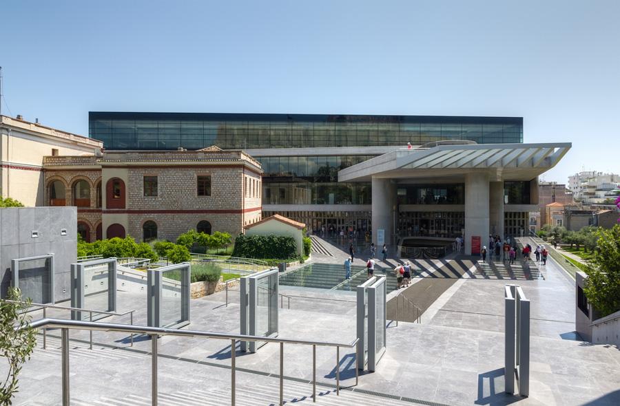 museu acropole atenas grecia entrada