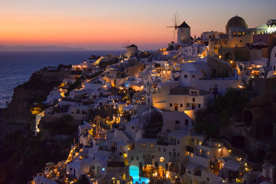 santorini por do sol mais famoso do mundo grecia oia mar egeu viagem europa