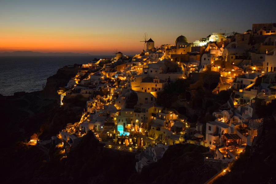 santorini por do sol mais famoso do mundo oia anoitecer grecia viagem
