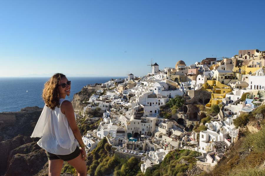 santorini por do sol mais famoso do mundo oia grecia casas brancas europa viagem verao ferias