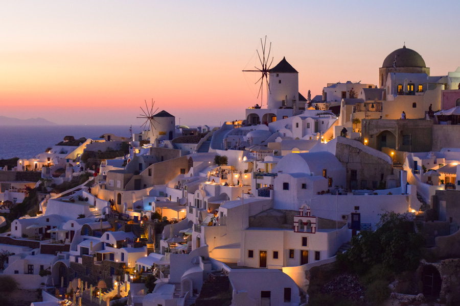 santorini por do sol mais famoso do mundo oia grecia viagem verao europa