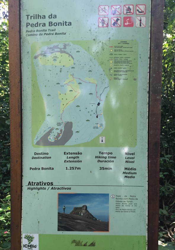 Trilha da Pedra Bonita no Rio de Janeiro informações como chegar