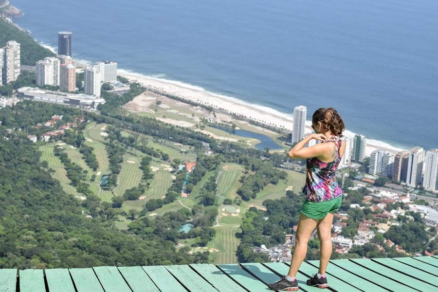 Trilha da Pedra Bonita no Rio de Janeiro pista de salto de asa delta
